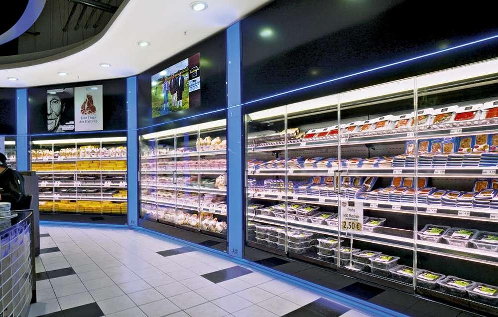 kühlmöbel einhausungen glasabdeckungen rollosysteme PAN-DUR
